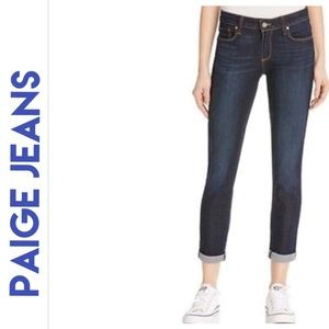 PAIGE Kylie Crop w/Roll Up Andrea Jeans NWT